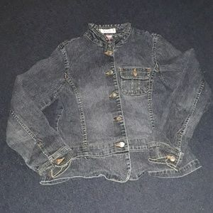 Xhilaration jean jacket with pocket